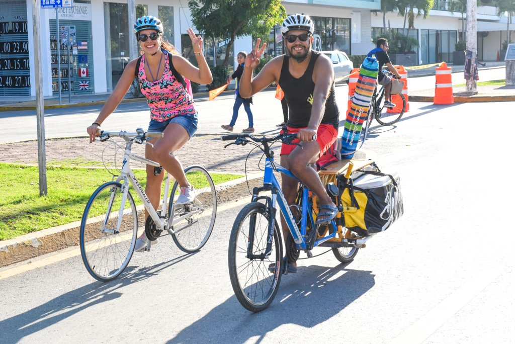Muevete en bicicleta, uso de la bicicleta. La bici es la neta. Bicicleta